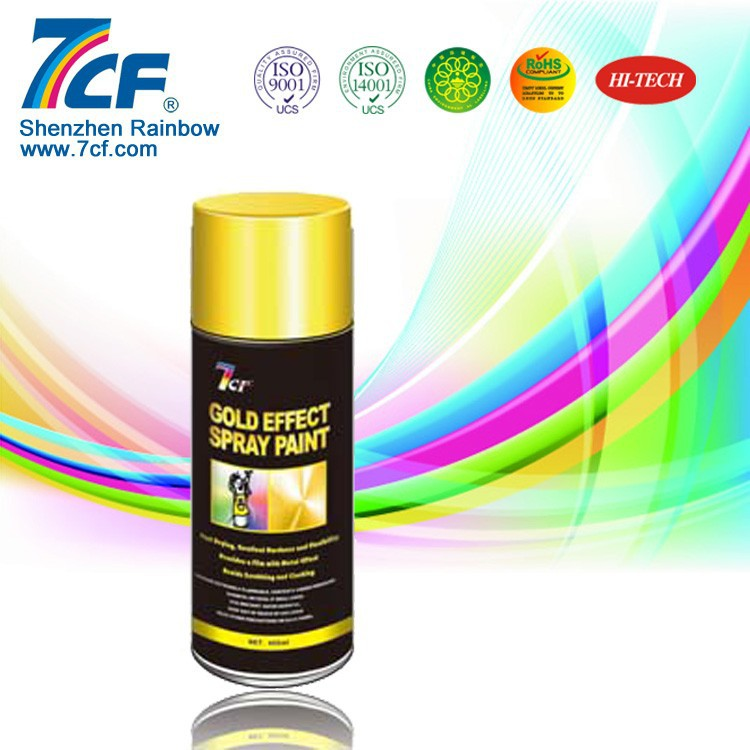 Water Based Spray Gold Paint For Metal