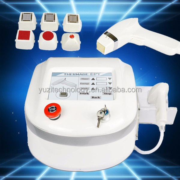 Good effectived radio frequency face lift / facial wrinklefractional rf & salon rf machine