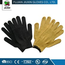 professional high quality industrial protection black cotton gloves image