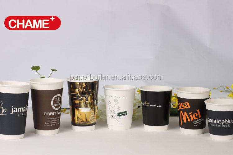 Double Wall & Ripple paper cup Insulation For Heat Protection