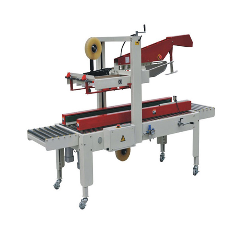 Small semi-automatic case sealer with CE