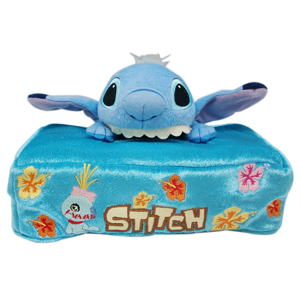 Wholesale plush tissue box animal fabric tissue box covers