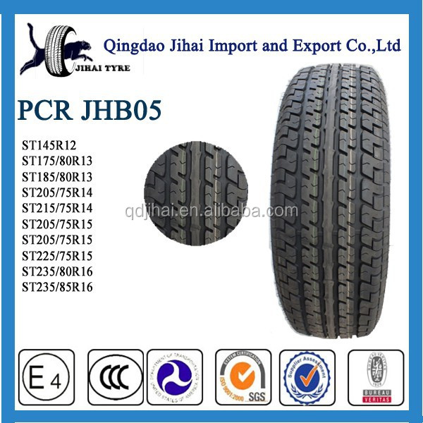 semi steel radial car tires ST235/80R16