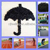 Recycled SBR Rubber Granule, Black SBR Rubber Crumb, Price Of Crumb Rubber -FN--DA-17020703