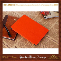 Highest quality leather shockproof case for ipad mini 4 wholesale