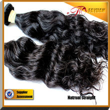 Single drawn double weft soft and smooth Brazilian hair deep wave human hair extensions for black women