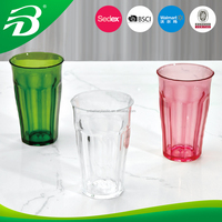 Plastic cup acrylic glass made in China from factory 12oz cup Hot sale new season fashional p