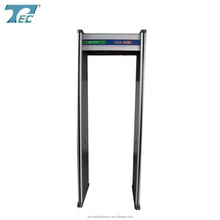 high sensitivity walk through metal detectors,security door price TEC-200 door type metal detector