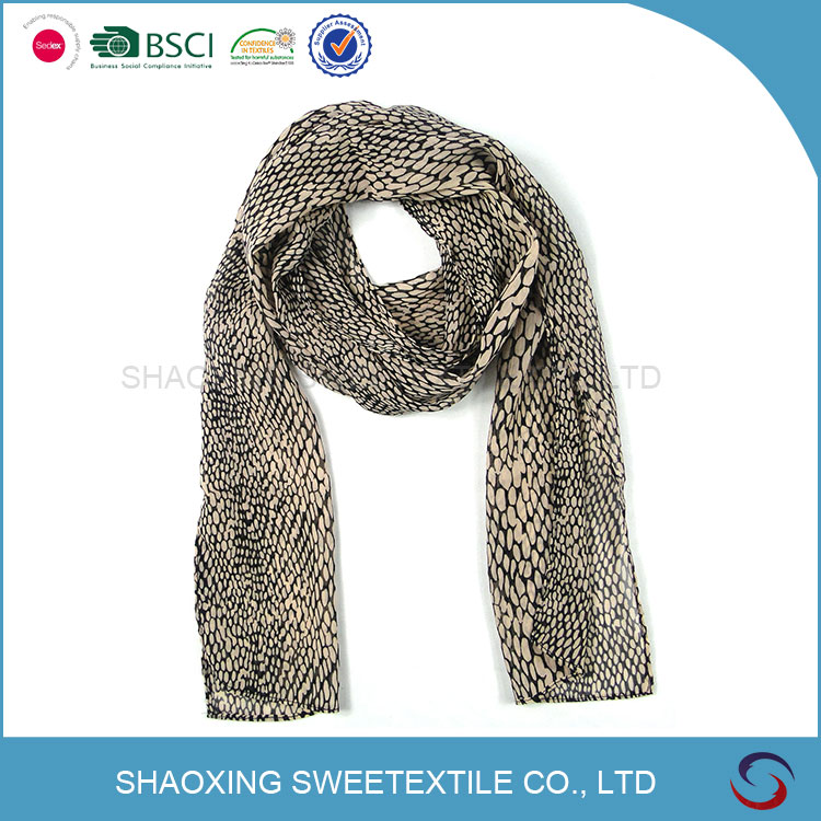 China Professional Manufacture Christmas Scarf