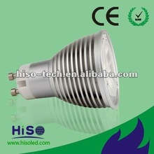 Warm white Day white Dimmable GU10 3W LED Spotlight