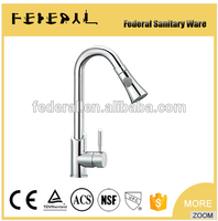 2016 New designed cheap ceramic cartridge single hole deck mounted single level faucet tap kitchen mixer