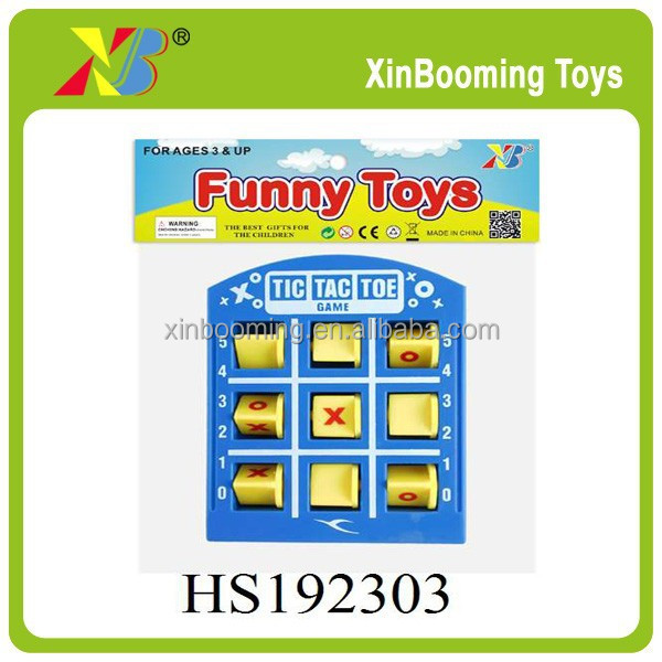 Popular tic tac toe board game educational toys