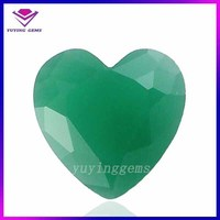 Heart Cut Synthetic Malaysian Jade wholesale