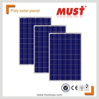 MUST POWER CE/IEC/TUV/UL Certificate poly 200w solar panel