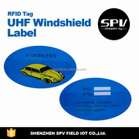 RFID Alien H3 ISO18000-6C 860-960MHz UHF Windshield Sticker/Label for Parking/Car/Vehicle