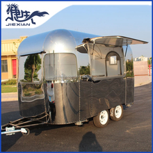 JX-BT350 Outdoor mobile camper trailer stainless steel kitchen for sale