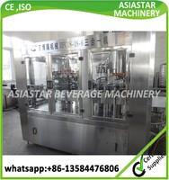 Factory price automatic liquid orange juice bottle filling machine 500ml