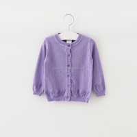 New design child coat thin knitted sweater cardigan softextile baby sweater design