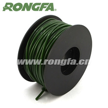 3mm soft plastic green PVC tube for garden agriculture binding