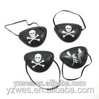 WES Halloween decoration Props Pirate single eye mask Goggles new model goggles