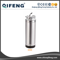 agricultural submersible well pump for irrigation