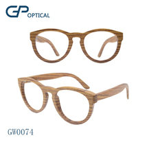 GW0074 polarized Handmade Wooden Sun glasses zebra wood eyewear