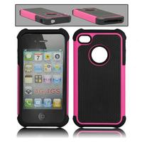 Hot Selling 2014 New Designer High Quality Cheap Anti-drop Hybrid Silicone Case For iphone 4 4G 4S