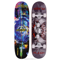 3108AC-10UC5436B chinese maple wooden four PU wheel kid graphic concave skateboard