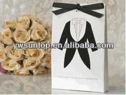 Scentsational favors collection Groom sachet paper gift bag