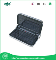 emergency solar charger with led lighting & camping charger for smart phone & patent solar charger