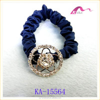 fancy style rhinestone hair jewelry for women