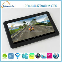 10 inch Android Tablet pc mtk8127 quad Core Android 4.2 built in GPS tablet pc touchscreen no os