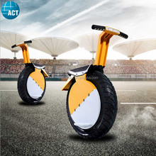 500W 60V single wheel electric scooter one wheel motorcycle with foldable pedals