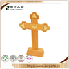 Wood crafts pine natural color standing wooden crosses for sales
