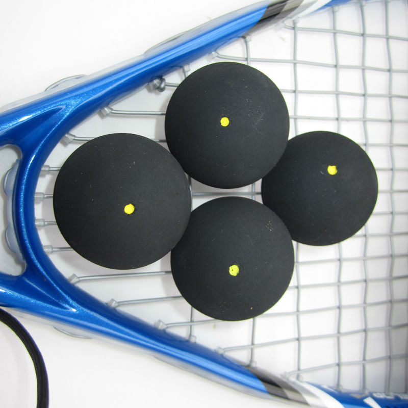 Cheap and High Quality One Yellow Dot Squash Ball