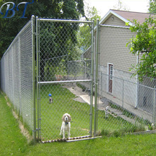ISO large dog run chain link animal cage/soft portable garden dog fence panel for sale