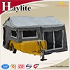 camping trailer car with kitchen