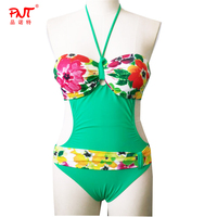 Printing Waistband Girl Bikini Micro Just Arrivals Popula Sex Mature Midriff Conjoined Swimsuit New Very Hot One Piece Swimwear