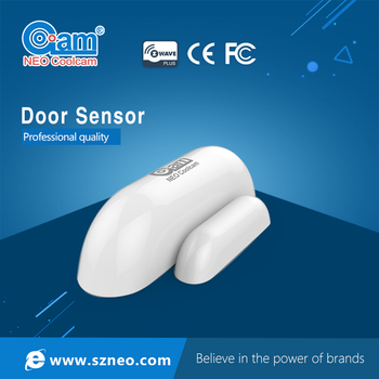 z-wave smart home sensor, 868.42/908MHZ magnetic door sensor for home alarm system and window alarm
