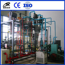 Black engine oil regeneration purifier / motor oil recycling machine / Cars oil filtering plant