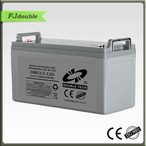 12v 120ah GEL sealed deep cycle solar battery manufacturer guarantee