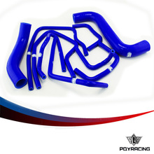 PQY STORE-PQY RACING-Blue Silicone Radiator Hose Kit for Suba** Impreza GDB GDA 2.0 WRX STI 2000-2009 9PC PQY-SG7302BL