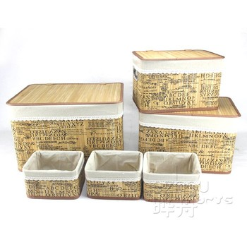High quality handmade bamboo basket Used for food grade