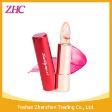 Hot Selling Kailijumei Gold Foil Glitter Jelly Lipstick With Fate Of Flower Lipstick Manufacturers
