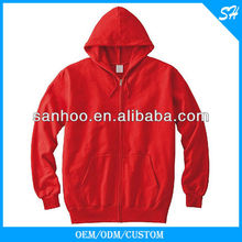 Factory Direct Sale Men's Zip Hoodies With Your Own <strong>Logo</strong>