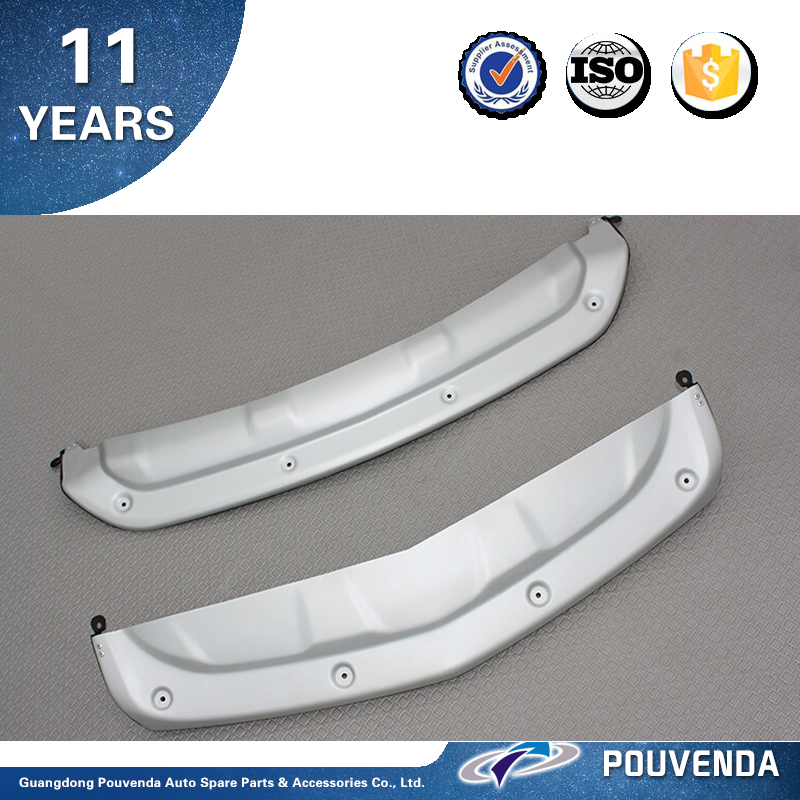Stainless steel front and rear bumper plate for 14+ Honda Acura MDX