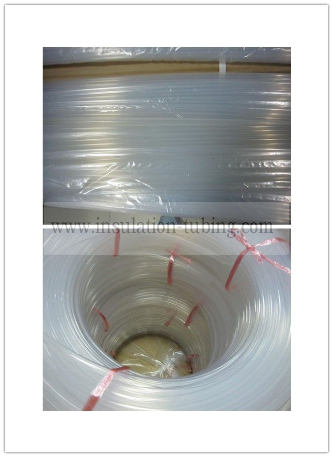 Electrical Insulation Translucent Fluoro Polymer PFA Tube
