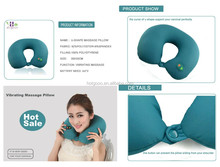 best quality vibrating travel massage inflatable pillow for sale