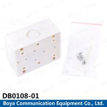 Ningbo Manufacturer rj45 wall outlet dimensions 8 pairs distribution box