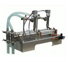 factory price Pneumatic liquid filling machine for milk,oils, ointment, honey CE
